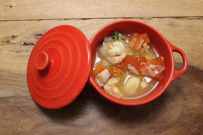 Zuppa di pesce Bouillabaisse