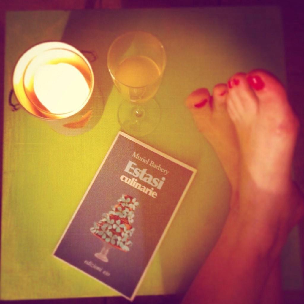 Scrivevo di champagne