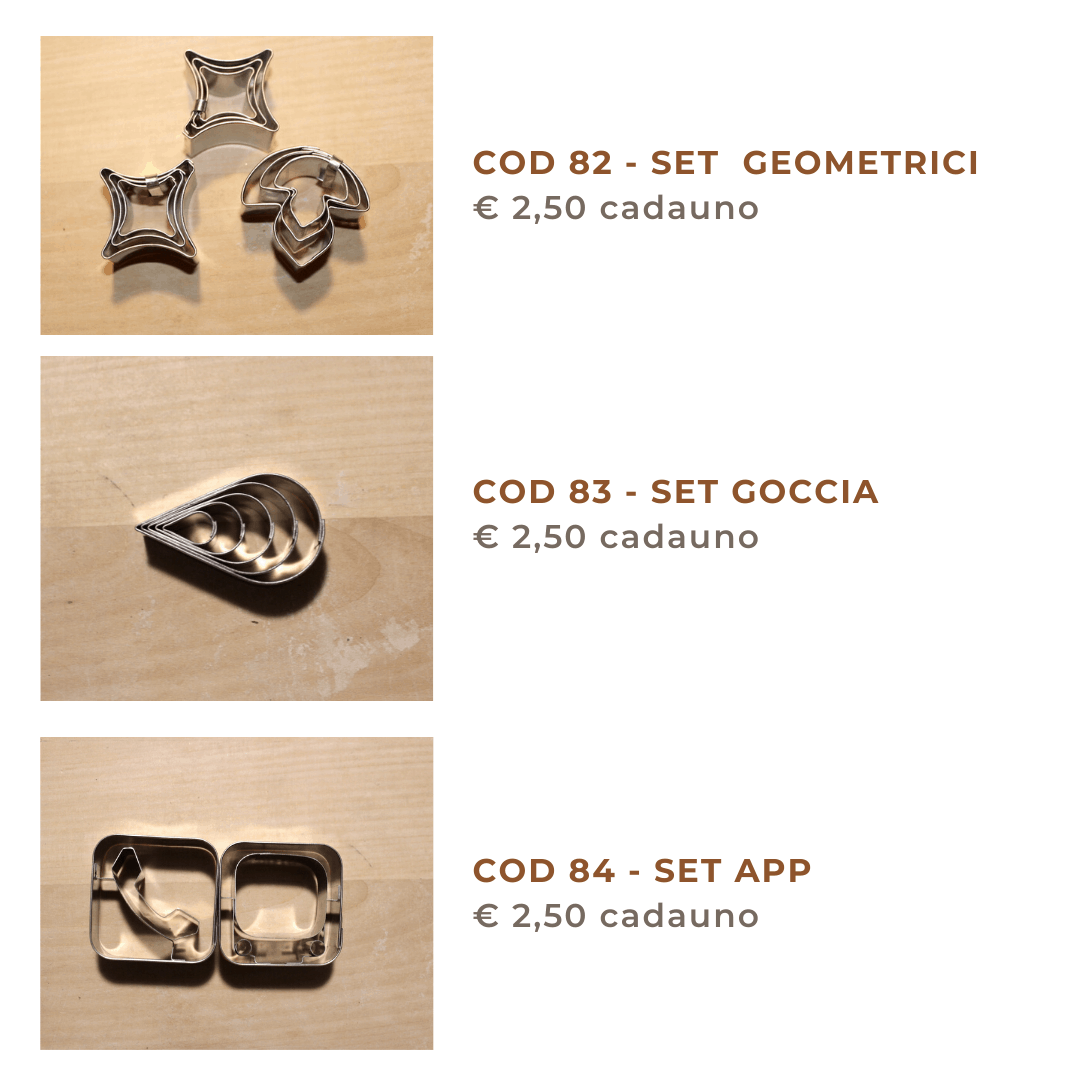 cookies cutter set